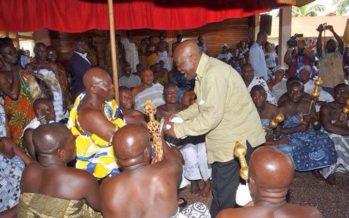 Asantehene Endorses Galamsey Ban by Government