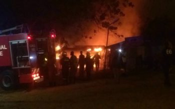 Photos: KNUST SMS Canteen Fire Nearly Razed Medical School