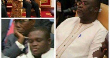 Sleeping Photo Of VP, MPs Causes Stir On Social Media