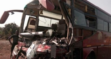 Photos: Another Accident on The Techiman-Kintampo Road