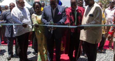 PHOTOS: Mahama, Rawlings & Kufour Commission First Private Medical School