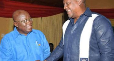 Prove Yourself At Debates Not 'Slangs' On Peace FM- Mahama Jabs Nana Addo