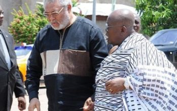Prez Elect Nana Addo And Former Prez Rawlings In A Secret Meeting