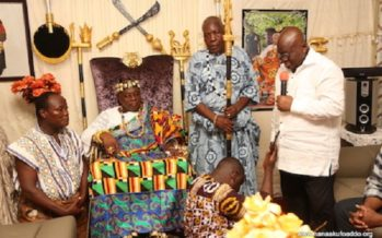 """""""You Have Nothing To Fear In Me"""", Akufo-Addo Assures Volta Region"""