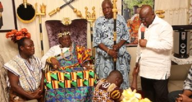 """You Have Nothing To Fear In Me"", Akufo-Addo Assures Volta Region"