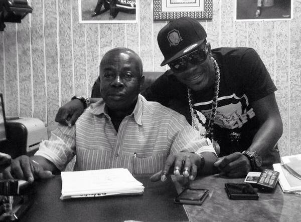 Shatta Wale and his dad