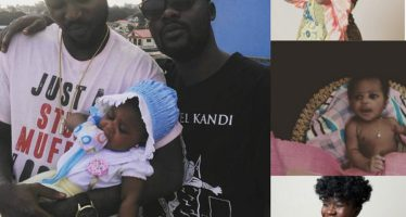Check out 7 Adorable PHOTOS of Rapper Yaa Pono's Cute Daughter and Wife