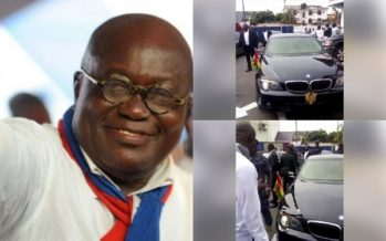 PHOTOS: Akufo-Addo's $130k BMW 7 Series Car is What Everyone is Talking About