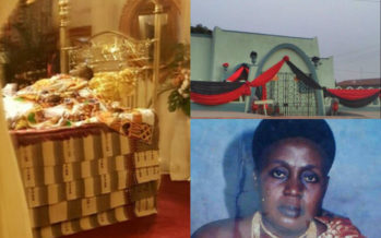 PHOTOS of Where Asantehemaa was Buried + her PHOTO as a Young Woman