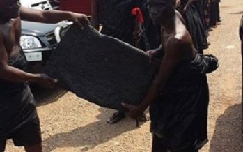 PHOTOS: Takyimanhene  at Asantehemaa's Funeral. Easing Asanteman-Takyiman Tension?