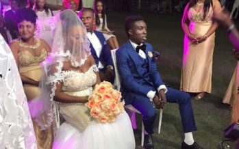 Colorful PHOTOS from Criss Waddle's Wedding