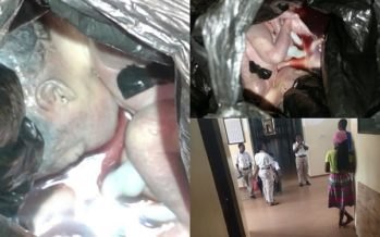 Gory PHOTOS: Aborted Fetus Found at a Hall on Legon Campus