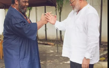 More PHOTOS from the Meeting of Giants, Rawlings and Pete Edochie