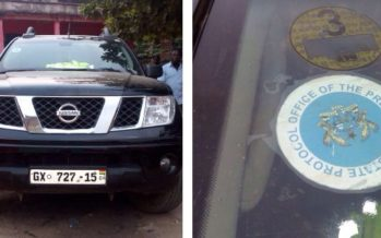 """""""Office of the President"""" Vehicle Involved in Theft at Cell Sites of Glo Ghana"""
