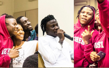 See PHOTOS from Stonebwoy's 50-minute Lecture at Ashesi University