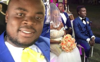 NSIAH ASANTE on Criss Waddle's Deserted Look at his Own Wedding