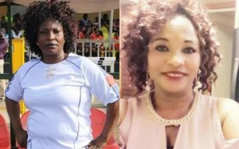 New PHOTO Shows Kumawood Actress, Kyeiwaa is Bleaching in the US