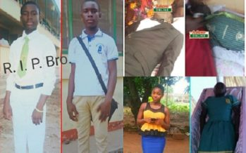 PHOTOS: 4 Victims of Kintampo Falls Tragedy Buried