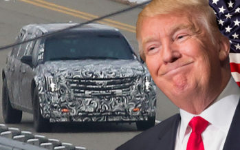 See PHOTO of President Trump's Armoured Limousine in its Final Stages