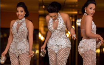 Look Closely at these PHOTOS of Benedicta Gafah's Dress at the 2017 VGMA's and Tell us What you See