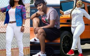 PHOTOS: 8 Times Nana Ama McBrown Showed us that She Loves Sneakers