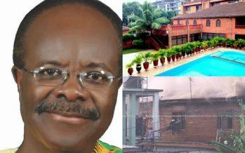 PHOTOS: Fire Guts Paa Kwesi Nduom's Hotel,  Coconut Grove Regency Hotel