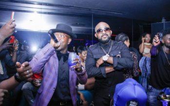 PHOTOS: Flowking Stone Celebrates VGMA Award at Ciroc Party with Banky W